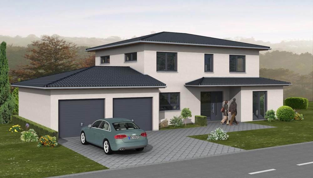 Massivhaus modern  Boger Massivhaus Bau GmbH